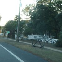Shalimar Town Sign, Шалимар