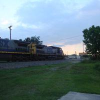 CSX Q456-25 Taft 6/25/2009, Эджвуд