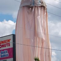 Water Tank being Painted at Winter Haven, FL, Элоис