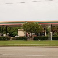 7 Eleven Store and Gas Station at Eloise, FL, Элоис