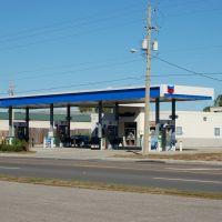 Chevron Gas Station at Winter Haven, FL, Элоис