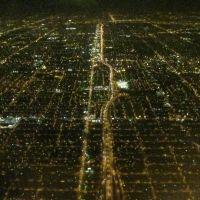 miami at night from above, Эль-Портал