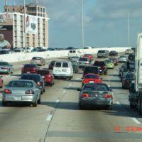 I-95 NB Miami morning rush hour, Эль-Портал