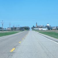 Approaching Hoven, South Dakota, Ватертаун