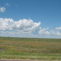 South Dakota prairie off 90, Ватертаун