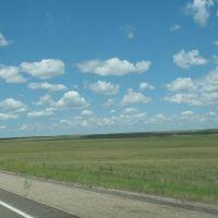 Clouds on the grasslands, Ватертаун