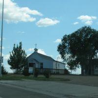 Church past Scotty Phillip, Ватертаун