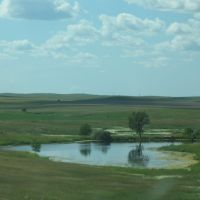 Pond before Exit 177, Ватертаун