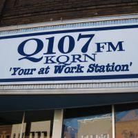 Q107 KQRN FM in Mitchell, Митчелл