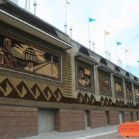 Side of Corn Palace, Митчелл