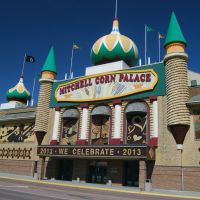 Mitchell Corn Palace, Mitchell, SD, Митчелл