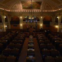 South Dakota House of Representatives Chamber, Пирр