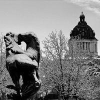 State Capital & Fighting Stallions B&W, Пирр