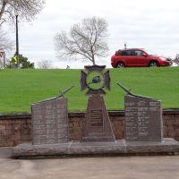 South Dakota Firefighters Memorial in Pierre SD, Пирр