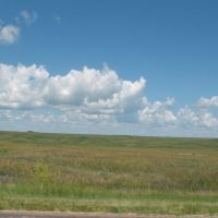South Dakota prairie off 90, Рапид-Сити