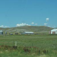 Barn and silos on 83, Рапид-Сити