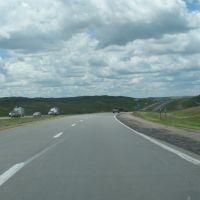 I-90 west of Oacoma, Сиу-Фоллс