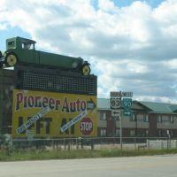 Pioneer Auto Museum, Сиу-Фоллс