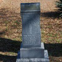 Maud Broadwick Tombstone, Андерсон
