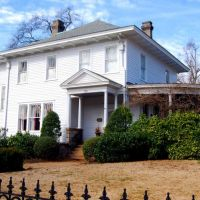 Louis Burdell Houston House - 213 Butler Street, Greenville, SC, Гринвилл