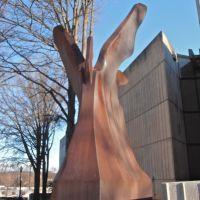 Steel statue, Гринвилл