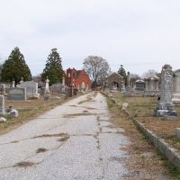 Mt. Pisgah A.M.E. Church from the Historic Magnolia Cemetery, Гринвуд