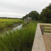 James Island creek view, Джеймс-Айленд