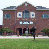 Bailey Memorial Stadium at Presbyterian College Press Box, Клинтон