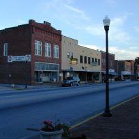 Downtown Clinton, SC, Клинтон