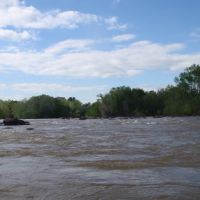 The waters mix and form the Congaree, Колумбиа