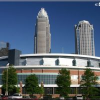 Charlotte Bobcats Arena and Bank of America Corporate Center, Пайнридж