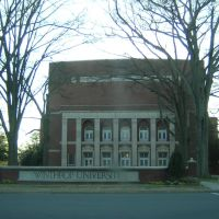 Winthrop University & Sign 2-18-2007, Рок-Хилл