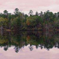 Mirror lake painting-Duffies Pond, Форест-Акрес