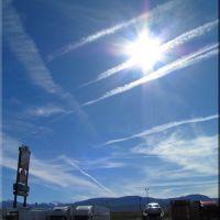 MORNING SKY. BEAVER, UTAH., Бивер