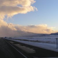 Route 15, Near Beaver, UT, Almost Ground-Level Cloud, Бивер