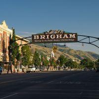 Brigham City Sign, Бригам-Сити