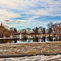 Pond At Pioneer Park, Бригам-Сити