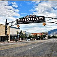 Brigham City Arch, Бригам-Сити