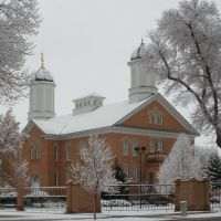 Vernal Temple in the first snow of the season, Вернал