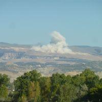 Powder Blast at SF Phosphates Ltd. operations north of Vernal, Utah, Вернал