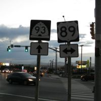 US-89/UT-93 Junction in Centerville 2, Вудс-Кросс