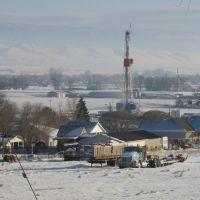 Oil rig in Gunnison, Ut, Ганнисон