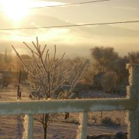 Cold winter morning, Ганнисон