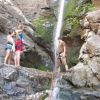 Bottom of waterfall in Rocky Mouth Canyon, Гранит-Парк