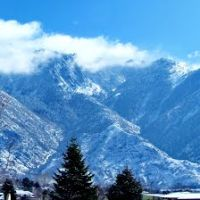 Wasatch Mountains from Sandy< Utah, Гранит-Парк