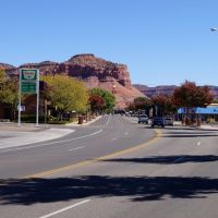 Main street in Kanab, Utah,, Канаб