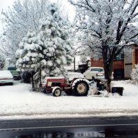 Fuerte nevada en la ruta 89., Канаб