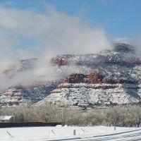 Snow in Kanab, Канаб