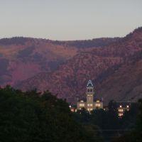 Old Main Hall, Utah State University, Sept 2008, 1, Логан
