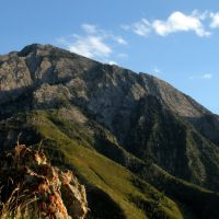 Mount Olympus from Neffs Canyon Ridge, Wasatch Mountains, Utah., Маунт-Олимпус